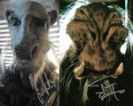 """STAR WARS"" TIM DRY and SEAN CRAWFORD 10"" x 8"" Genuine Signed Autograph 11452 COA"
